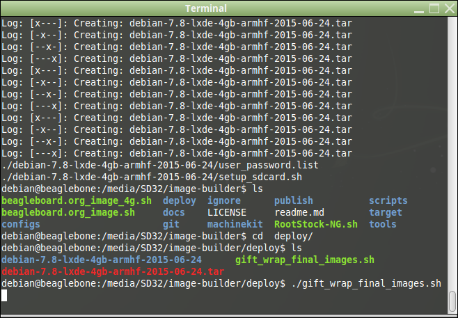 8 Rebuild Debian Image Using image-builder image generation.png