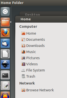 how to go to home folder in linux