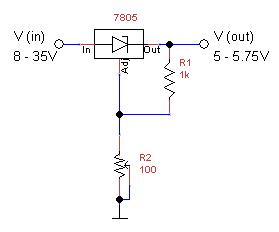 Adjustable Power Supply Schematic Output on regulated power supply schematics