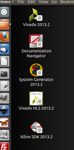 Figure 1: Default Desktop Icons.