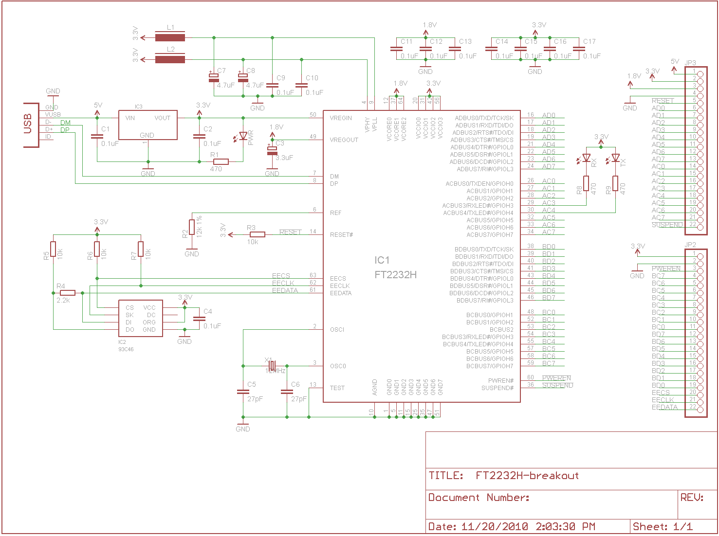 Flameman Blackfin Avr Jtag Ftdi Cable Schematic Ft2232 Breakout Board