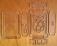 Laser-cut Clear Acrylic Case on eBay
