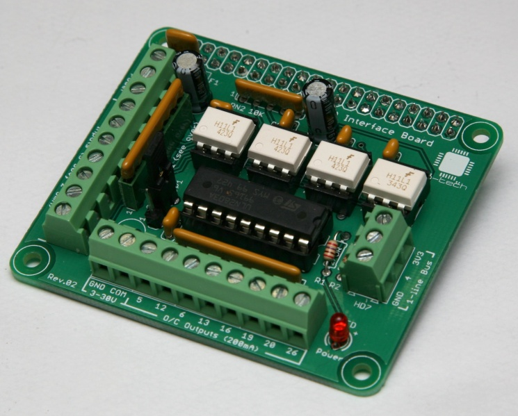 File:Lo-tech-gpio-interface-board-front-assembled.JPG