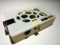 Makerbot printed case with GPIO access
