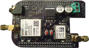 BeagleBone TrackingCape front