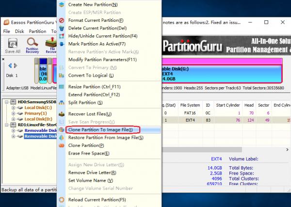 partitionguru for linux