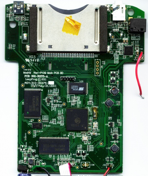 File:LeapPad Explorer - Teardown - LeapPad Explorer - Mainboard - Rear.jpg