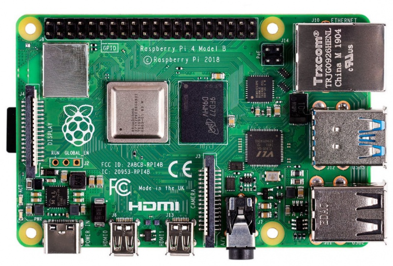 File:Raspberry Pi 4 Model B.jpg